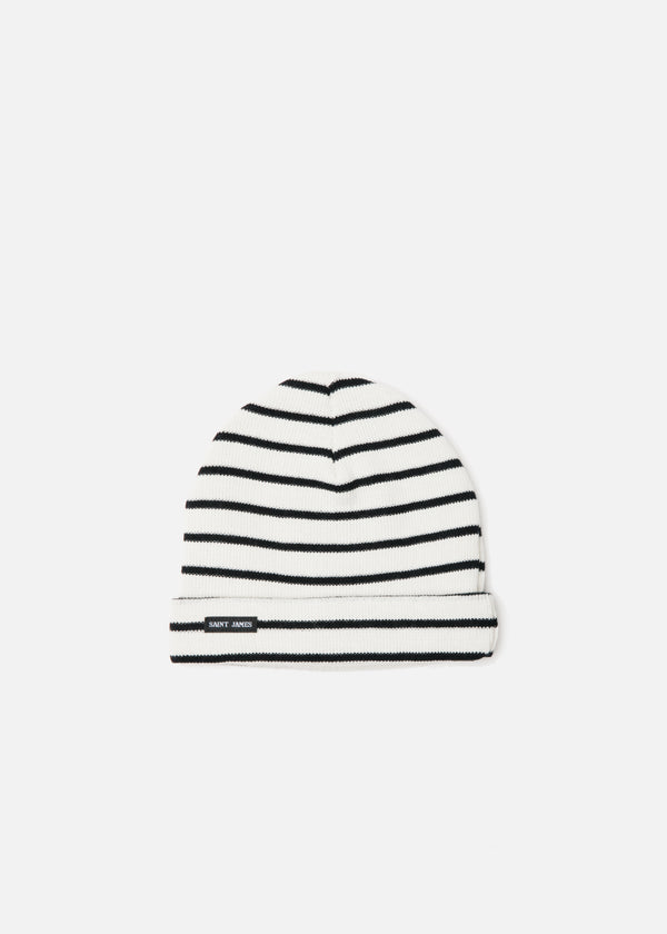 Cartier Beanie in Ecume/Navy