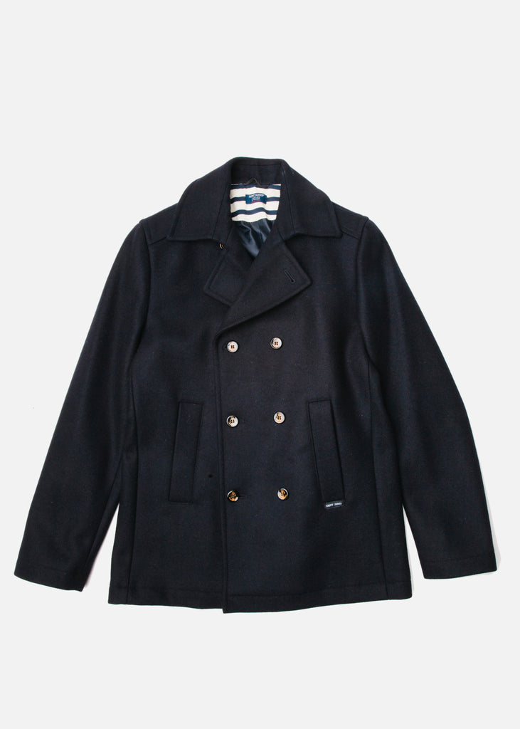 St Hilaire Peacoat in Navy