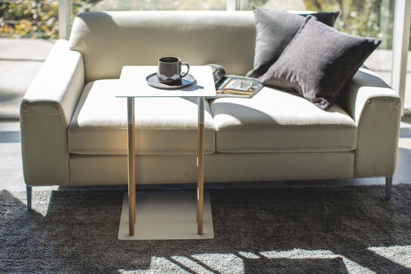 Sliding Couch End Table