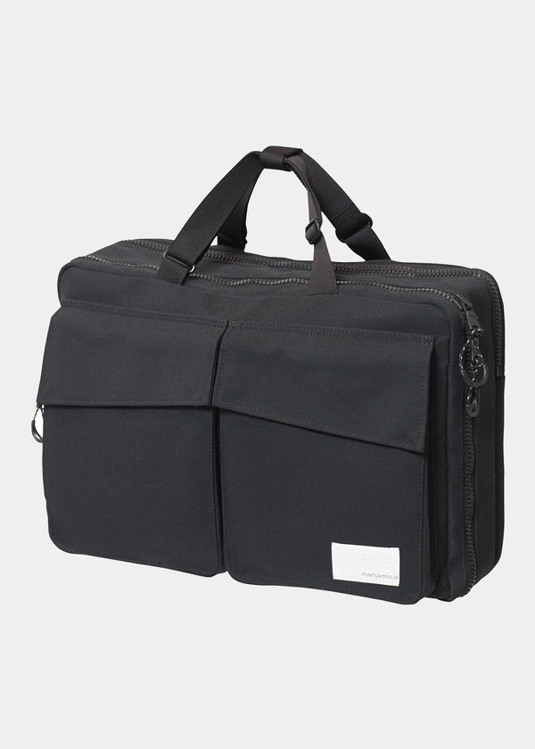 3 Way Briefcase in Black