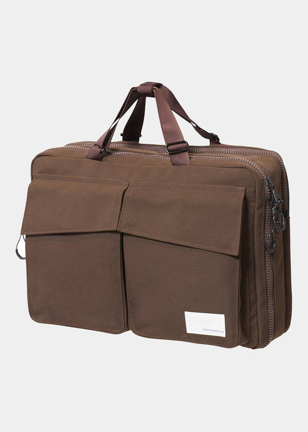 3 Way Briefcase in Brown