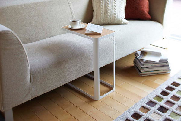 C Shape End Table for Couch