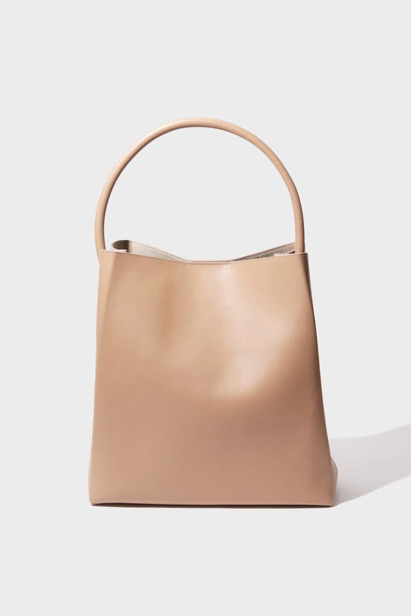 Arch Handle Pleat Tote | Dune