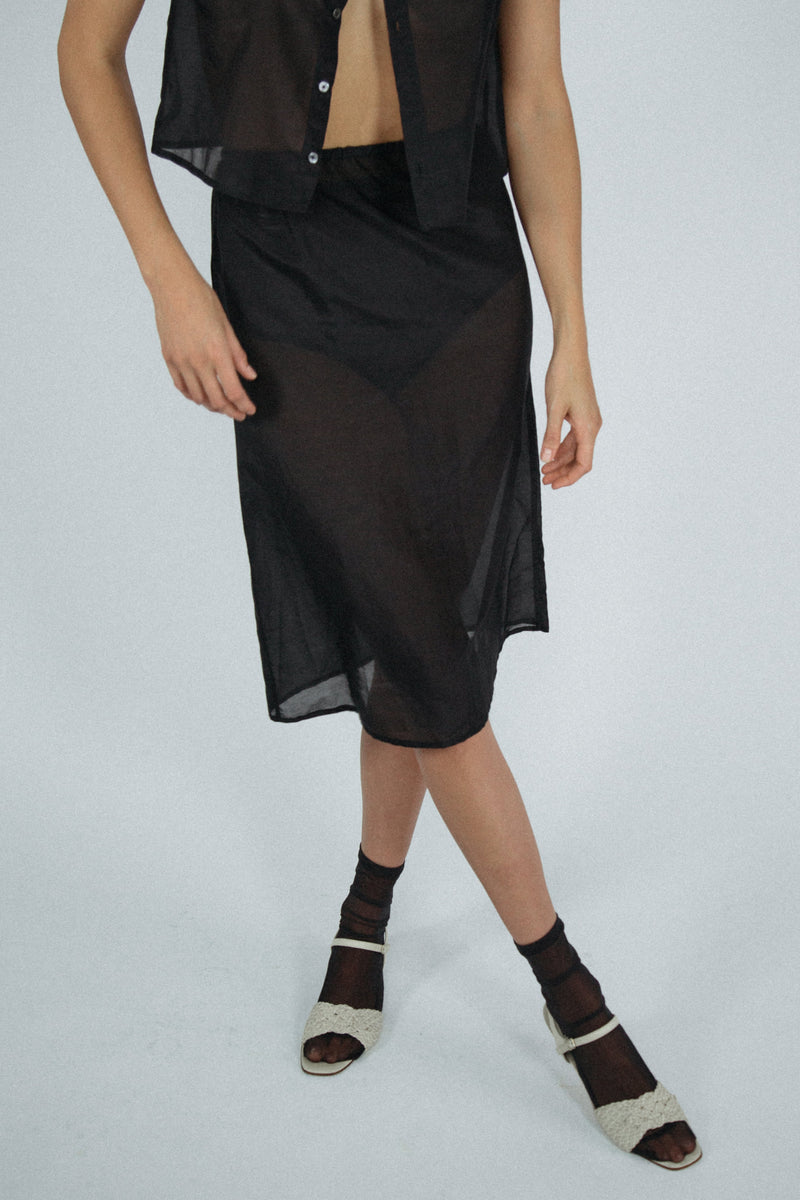 Carly Skirt in Black