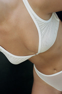 Dive Bra (Bone)