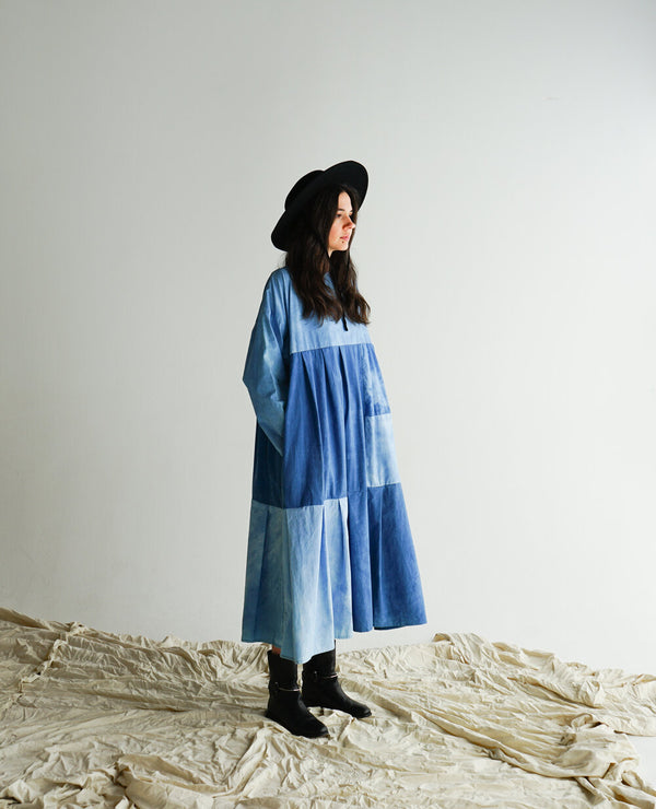 Swing Dress - Indigo