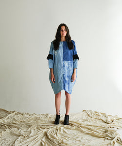 Merit Dress - Indigo