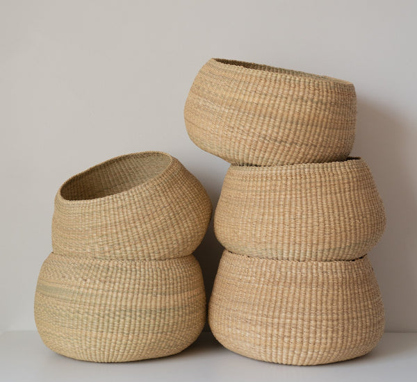 Handwoven Bowl Basket