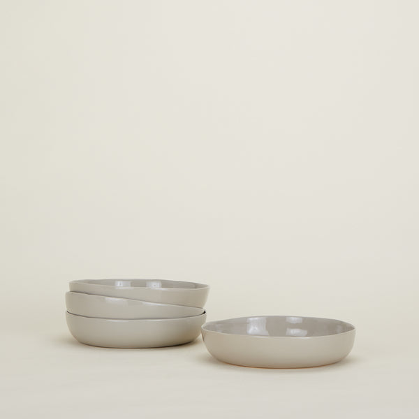 ORGANIC DINNERWARE - Low Bowl Set of 4