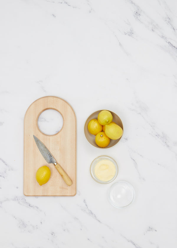 Simple Wood Arch Cutting Board
