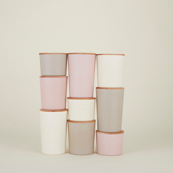 BLUSH ESSENTIAL STORAGE CONTAINERS - Set of 3