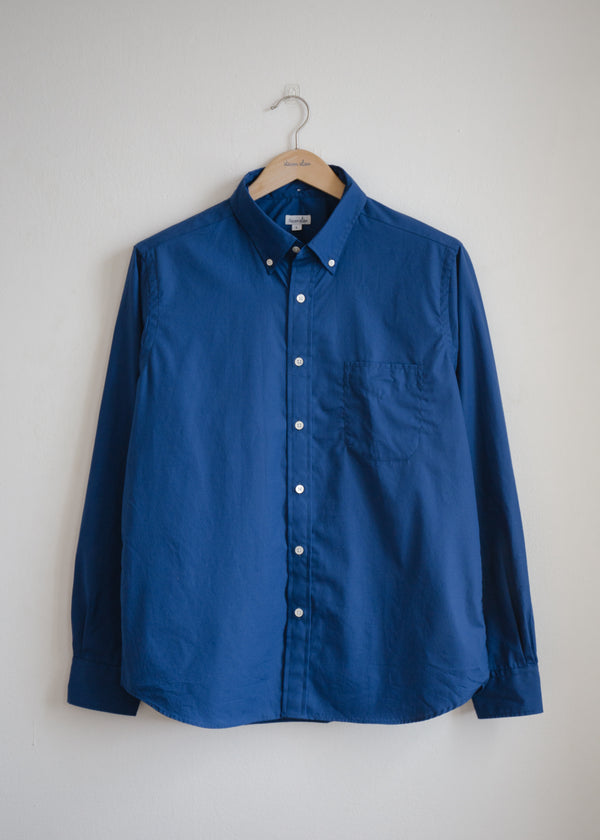 Classic Collegiate Shirt, Bright Navy