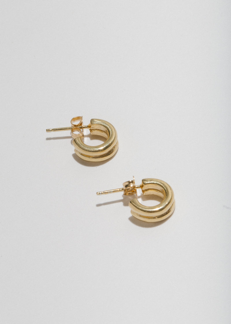 Double Lil Jane Hoops