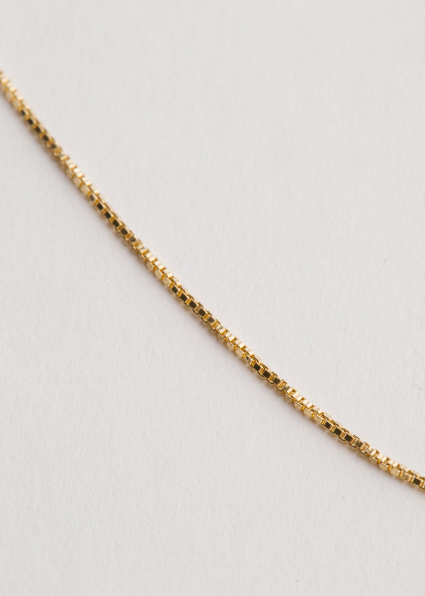 Vintage 14k Gold Filled Box Chain
