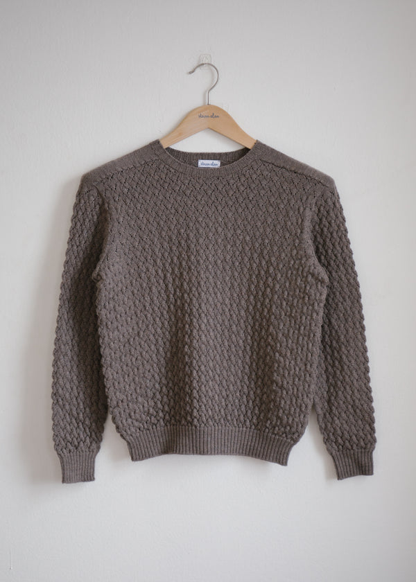 Merino Barclay Sweater, Walnut