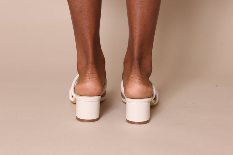 Tami / Cream Leather