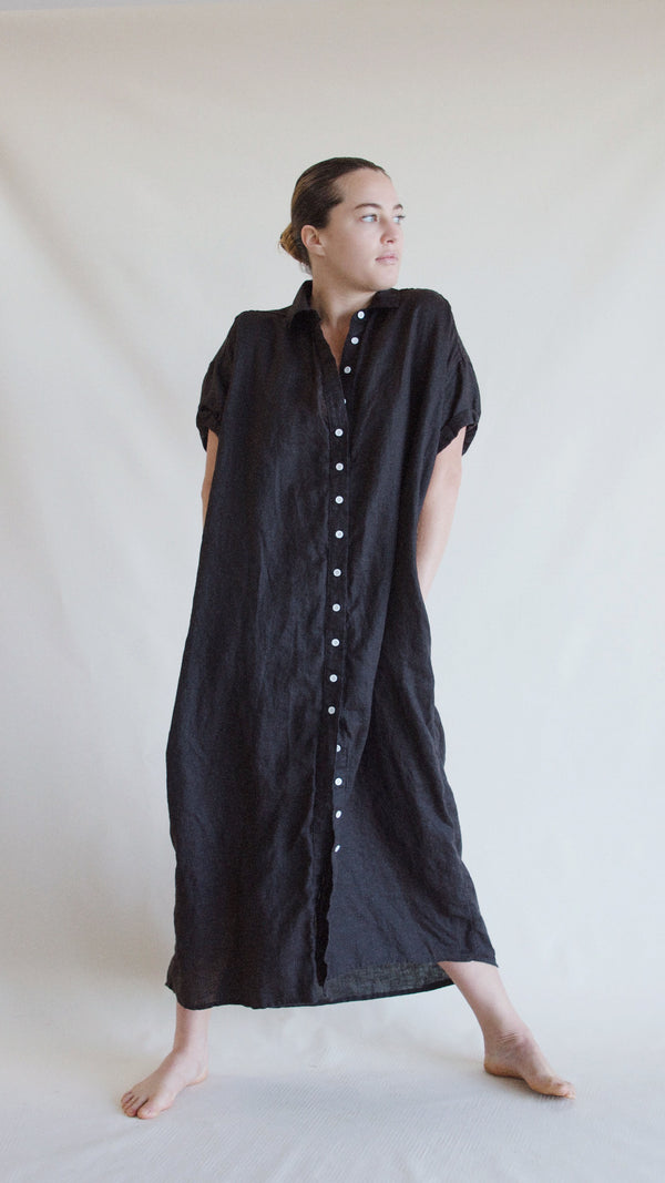 Rhodes maxi, Washed Black