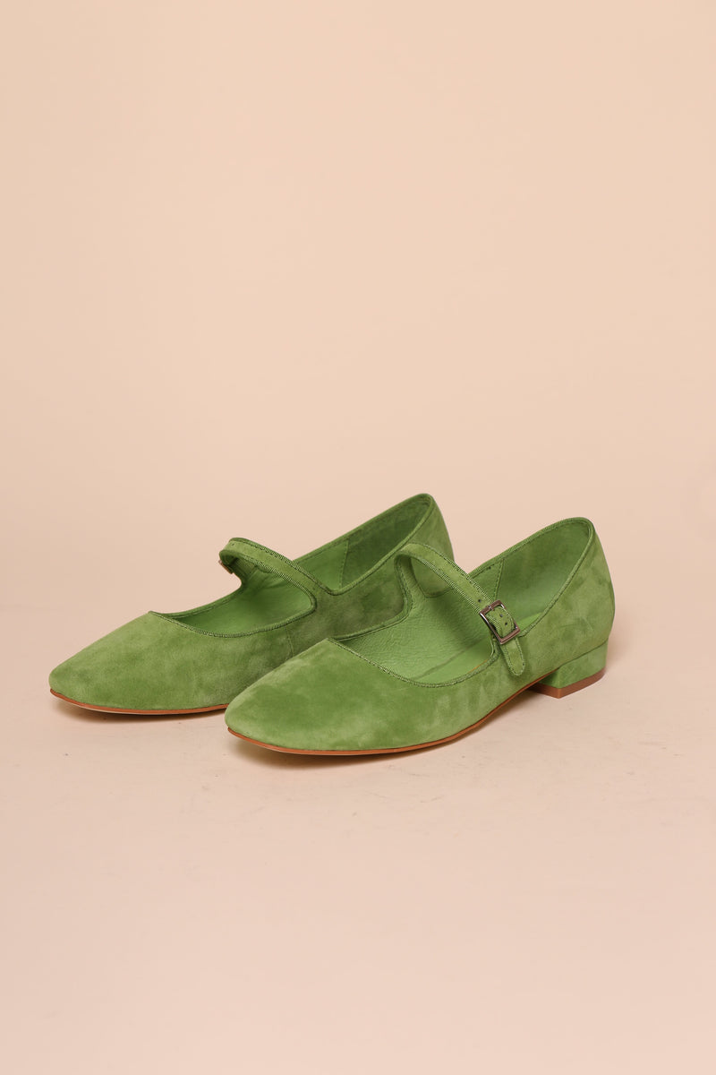 Kemp / Lime Suede