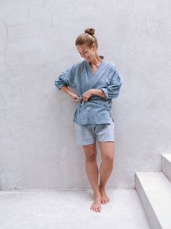 JD KIMONO organic cotton 2 way space dye