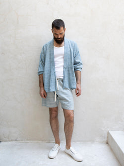 JD Kimono / Organic Cotton 2-Way Space Dye