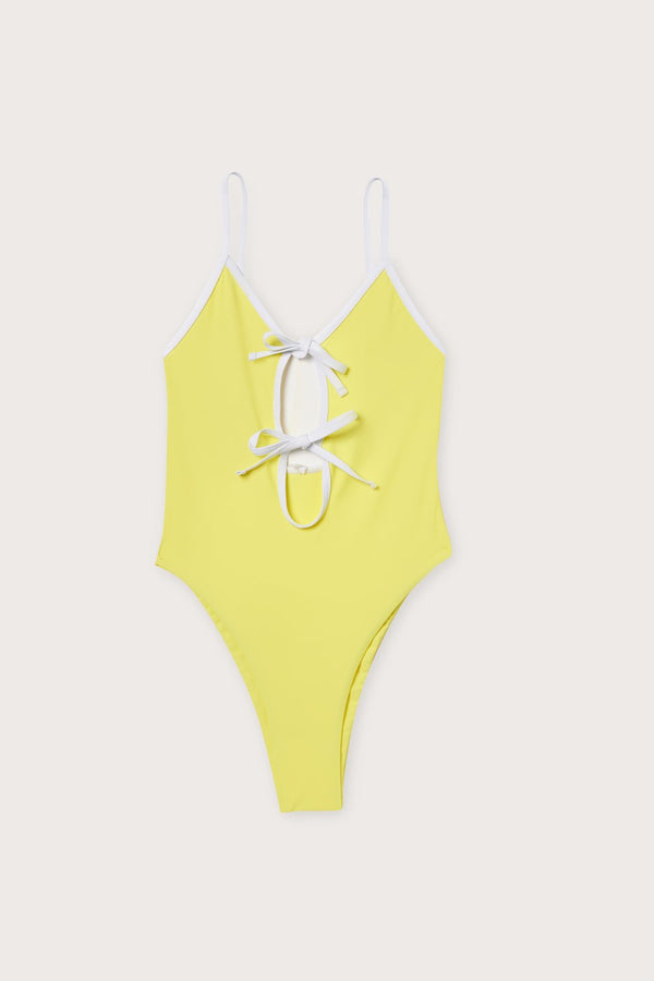 Key Biscayne One Piece / Lemon
