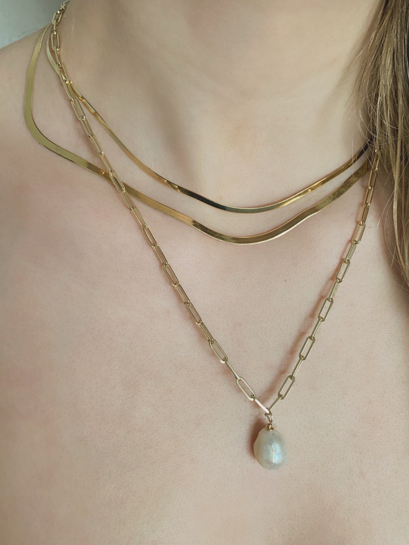 Petite Link Chain Necklace