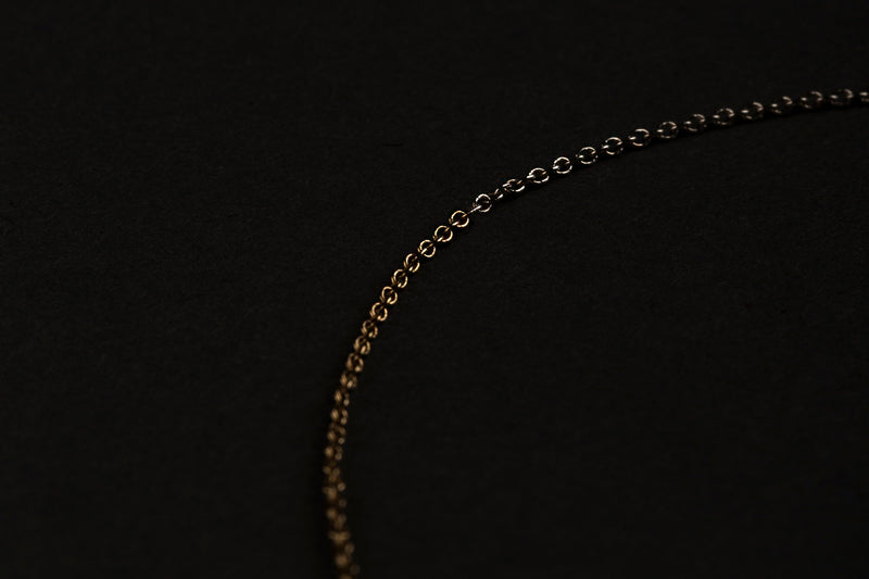 Composition Necklace / 14k Gold