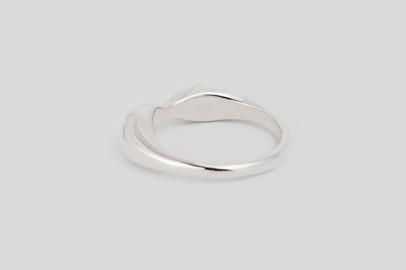 Figure Ring / Sterling Silver