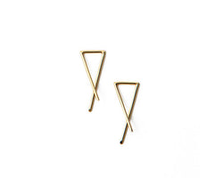 Slip-On Earrings / 14k Gold or Sterling