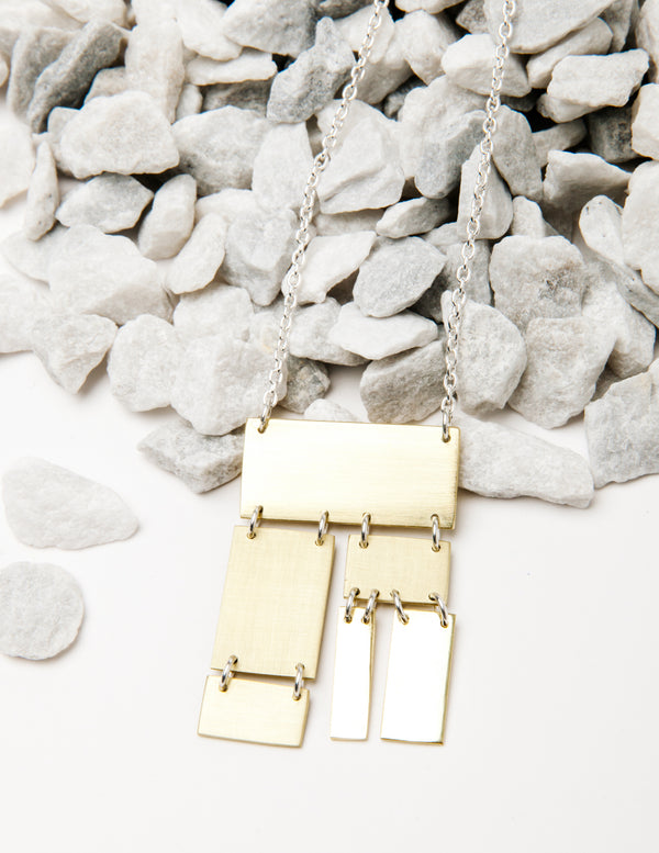 Plateau Collage Necklace