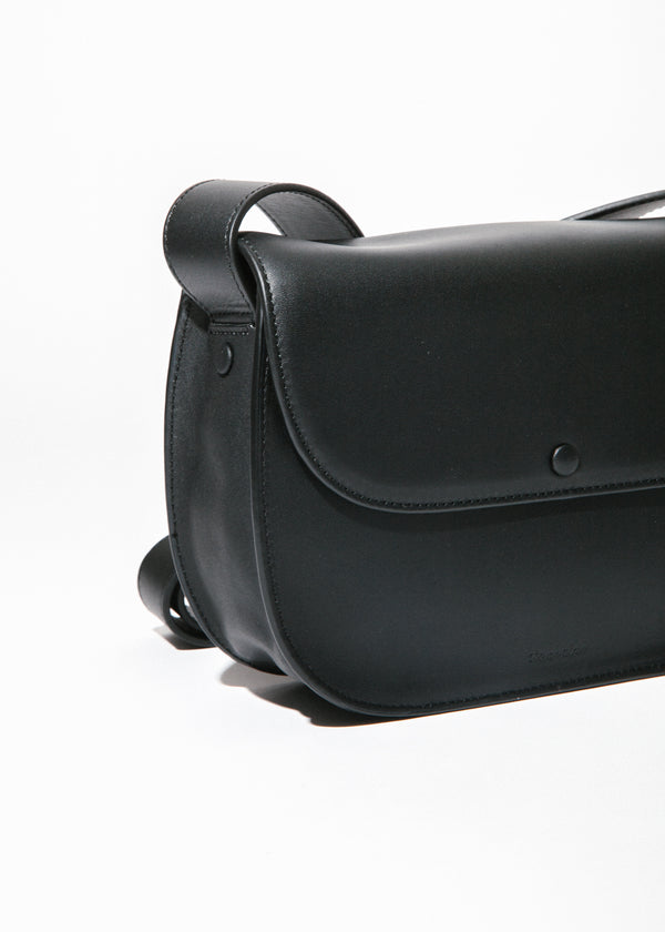 Shane Saddle Bag in Black
