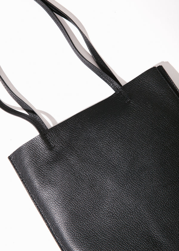 Maddox Accordion Tote in Black