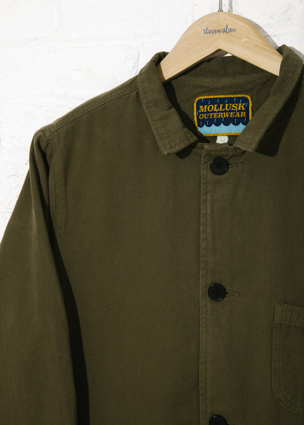 Fall Deck Jacket in Mash Green