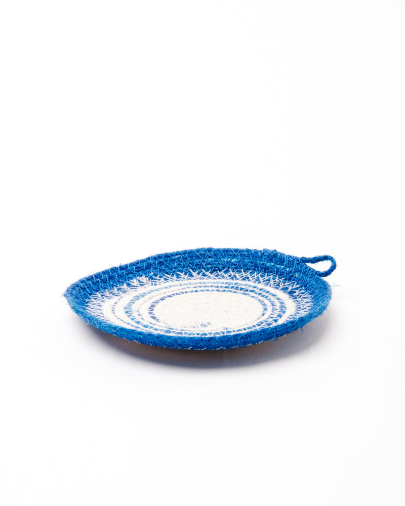 Ring Catcher in Blue + Natural