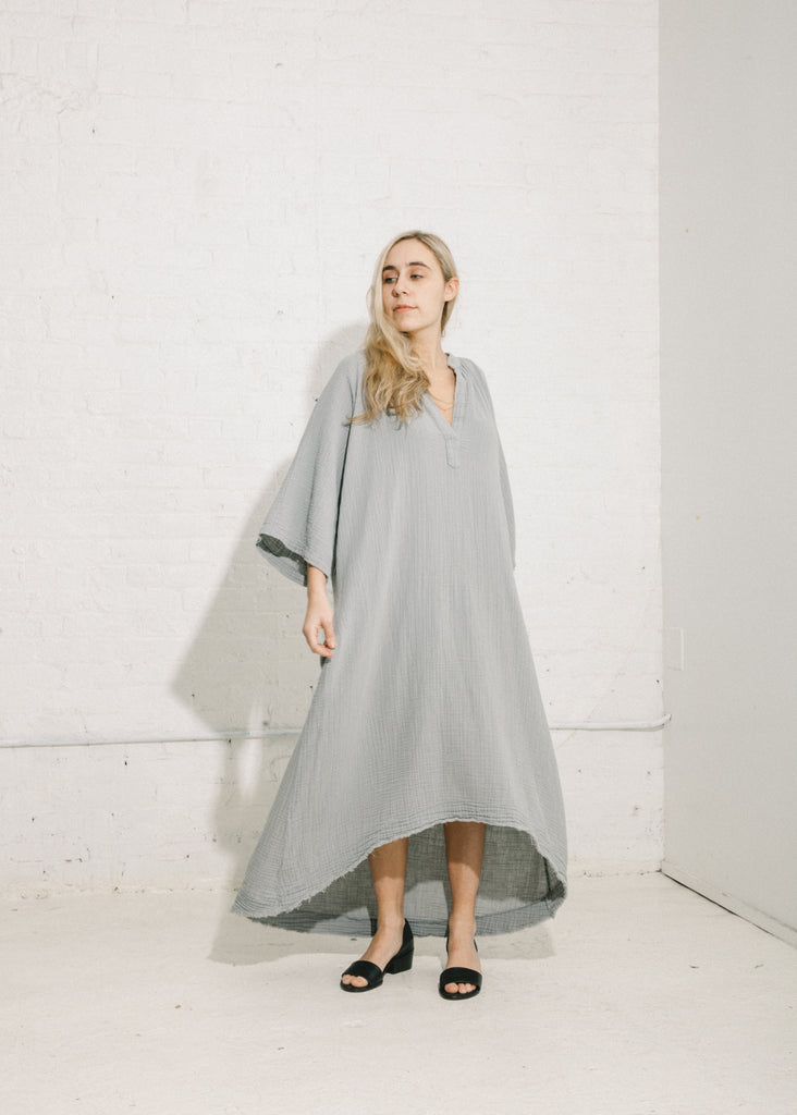 Tangier Caftan in Oyster