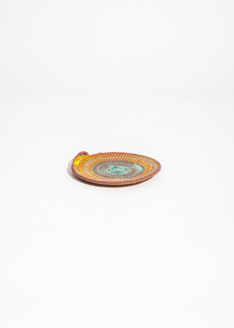 Ring Catcher in Teal/Marigold