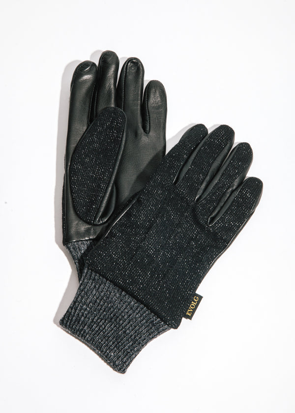 Saga Touchscreen Gloves in Black
