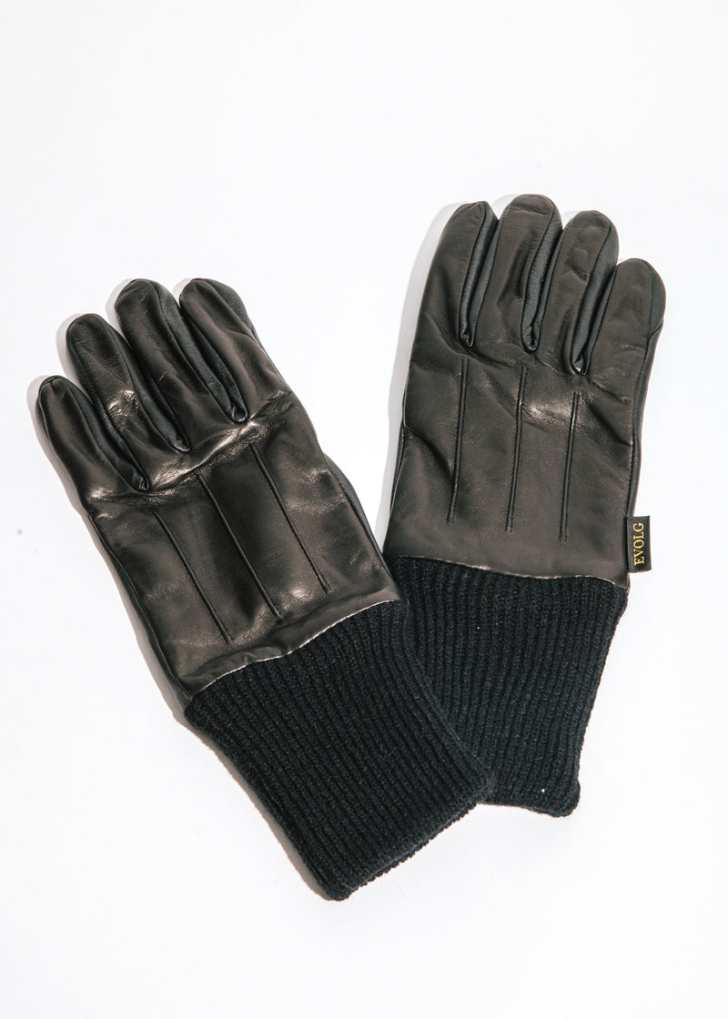 Royal Touchscreen Gloves in Black