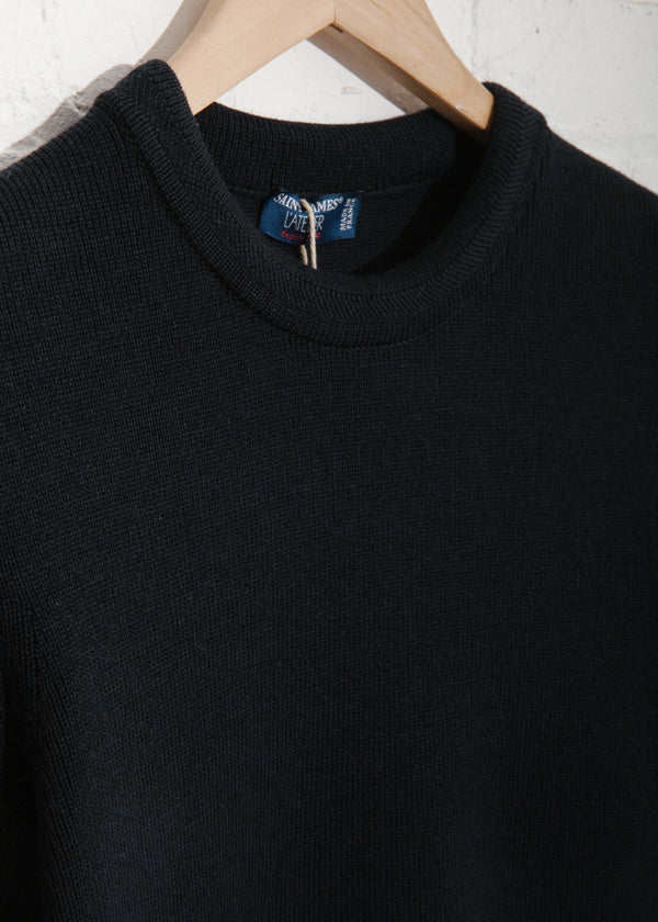 Locronan III Crewneck Sweater in Navy