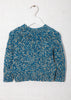 Nova Sweater kids in Natural Indigo