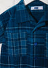 Kid's Mak Camp Shirt in Hand Woven Plaid