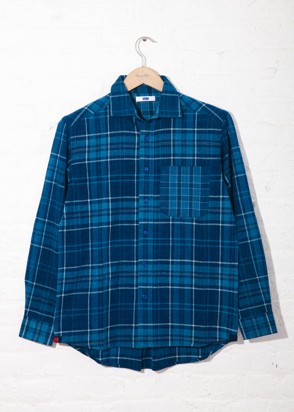 Matty Shirt in Handwoven plaid