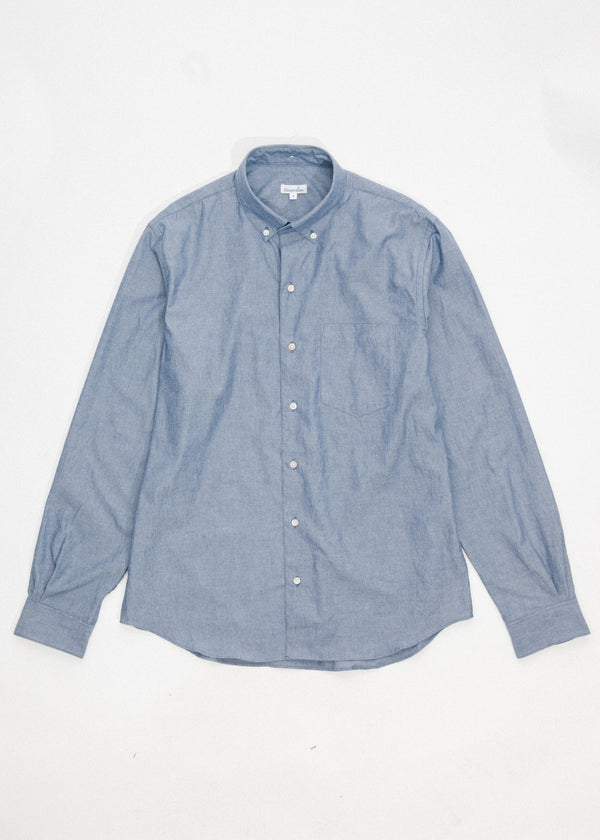 Single Needle Shirt in Chambray