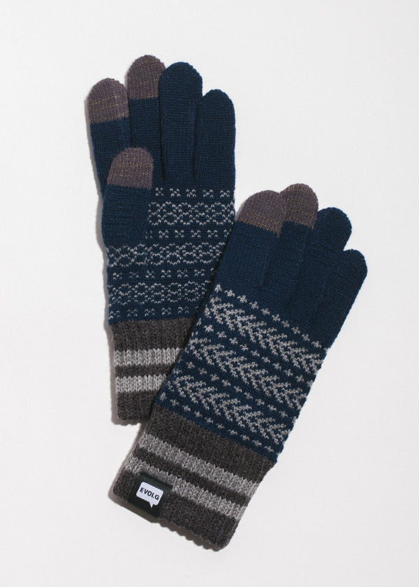 Bon Touchscreen Gloves in Navy