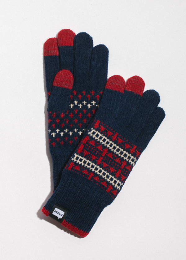 Native Touchscreen Gloves in Navy