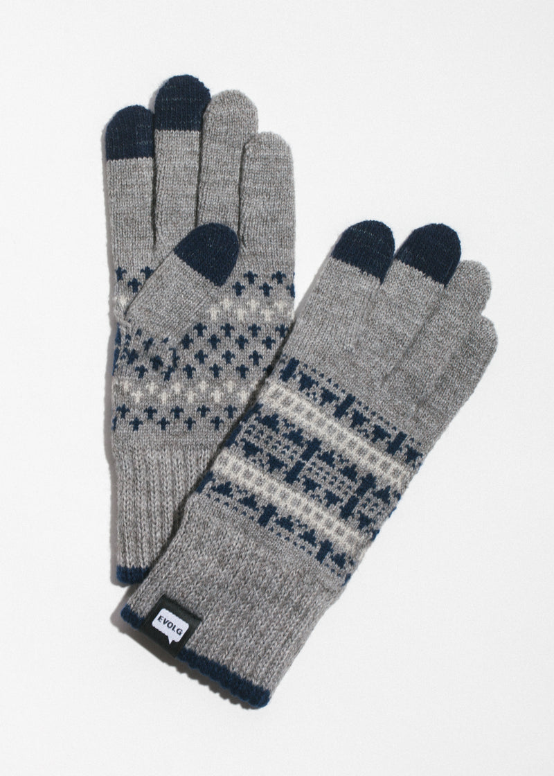 Native Touchscreen Gloves in Grey