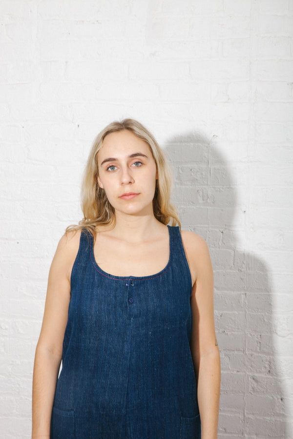 Cass Jumper in Khadi Denim