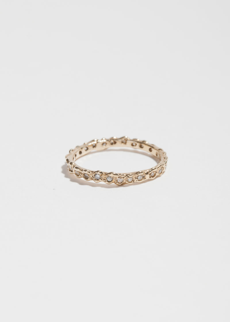 14k Gold 24 Diamond Eternity Ring