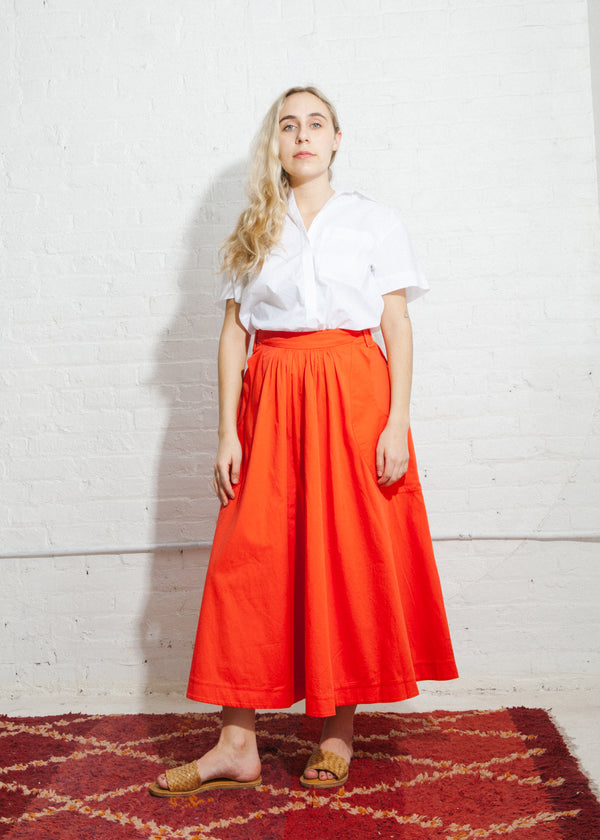 Margot Skirt in Red