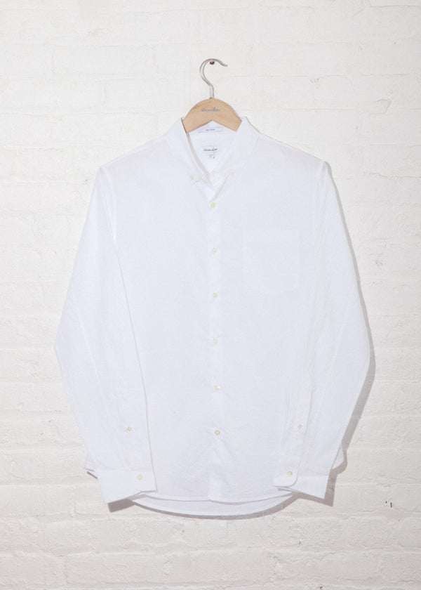 Single Needle Shirt in White